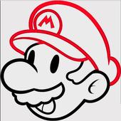 Glow Draw Mario icon