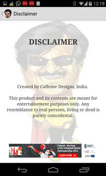 Ayyo Rajni - Rajnikant Jokes! apk screenshot