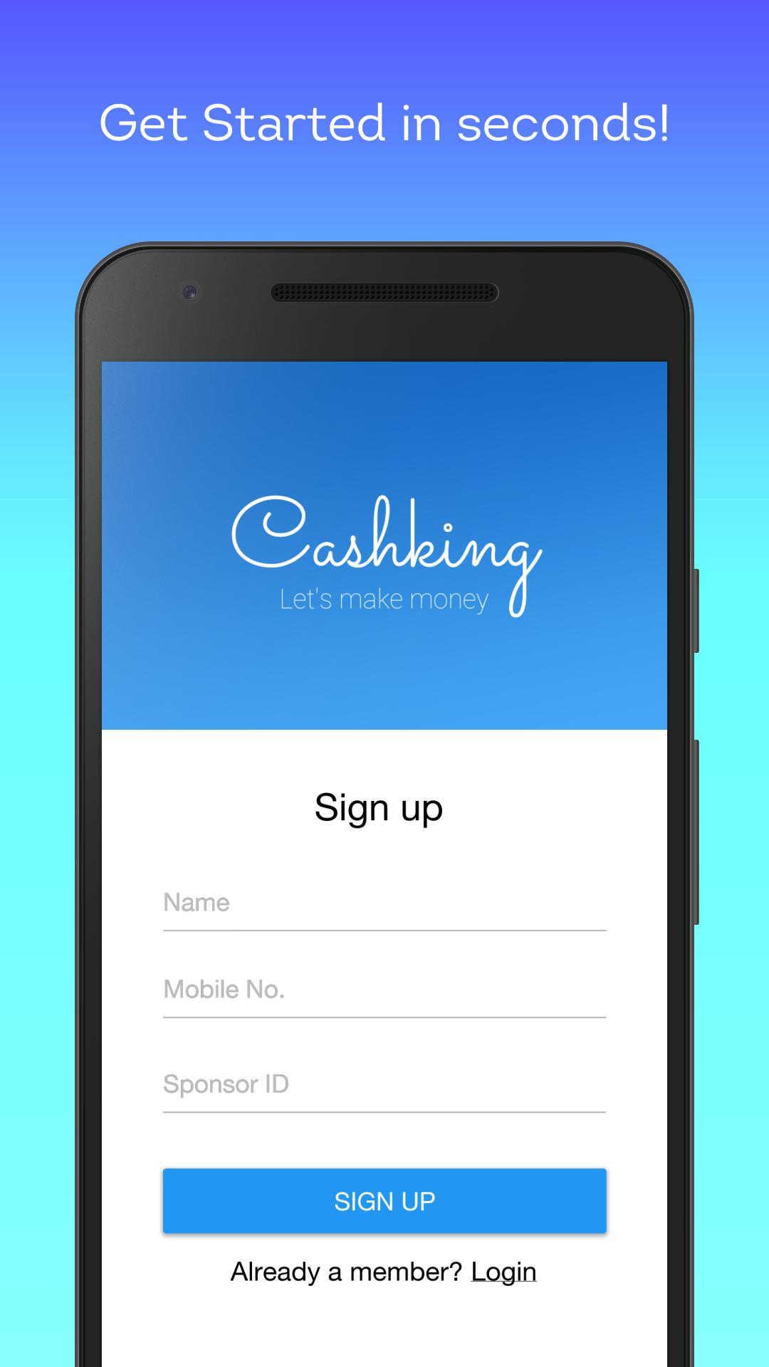 Ayz Cashking - Earn Free Paytm Money for Android - APK Download