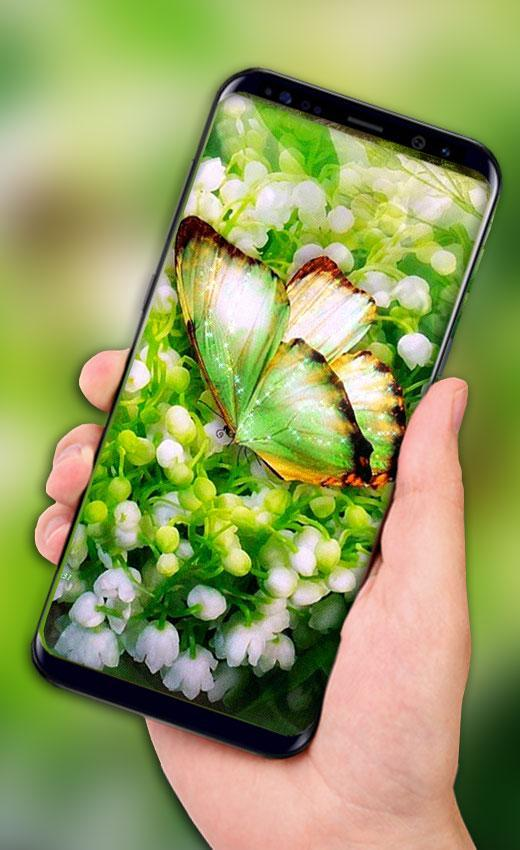 Butterfly Live Wallpaper Hd Butterfly Screen Lock For Android Apk Download