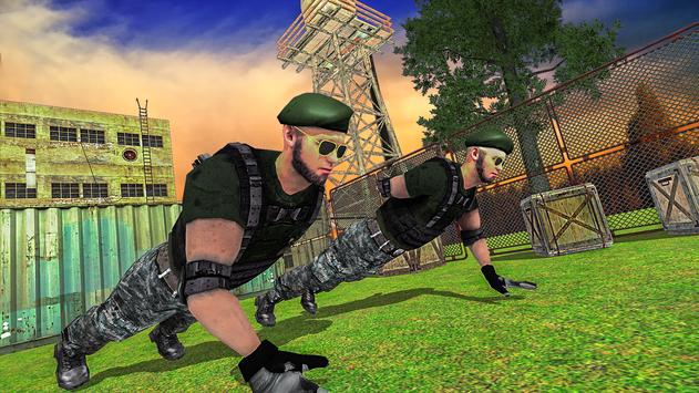 US Army Training School Game: Special Force Heroes poster