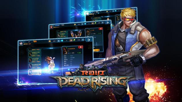 Raid:Dead Rising plakat