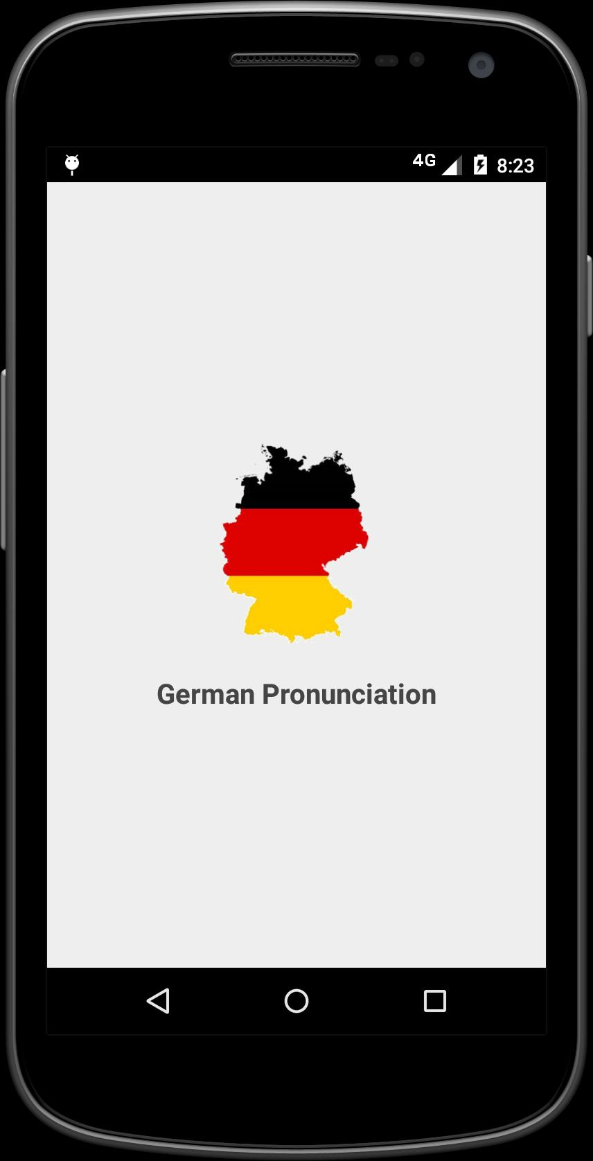 German Pronunciation for Android - APK Download