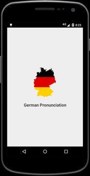 German Pronunciation poster
