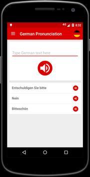 German Pronunciation screenshot 1