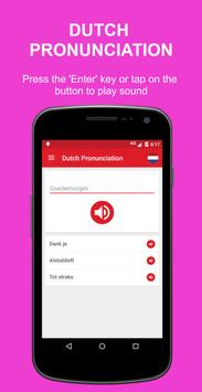 Dutch Pronunciation screenshot 2