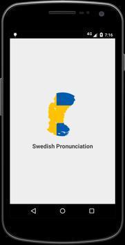 Swedish Pronunciation poster