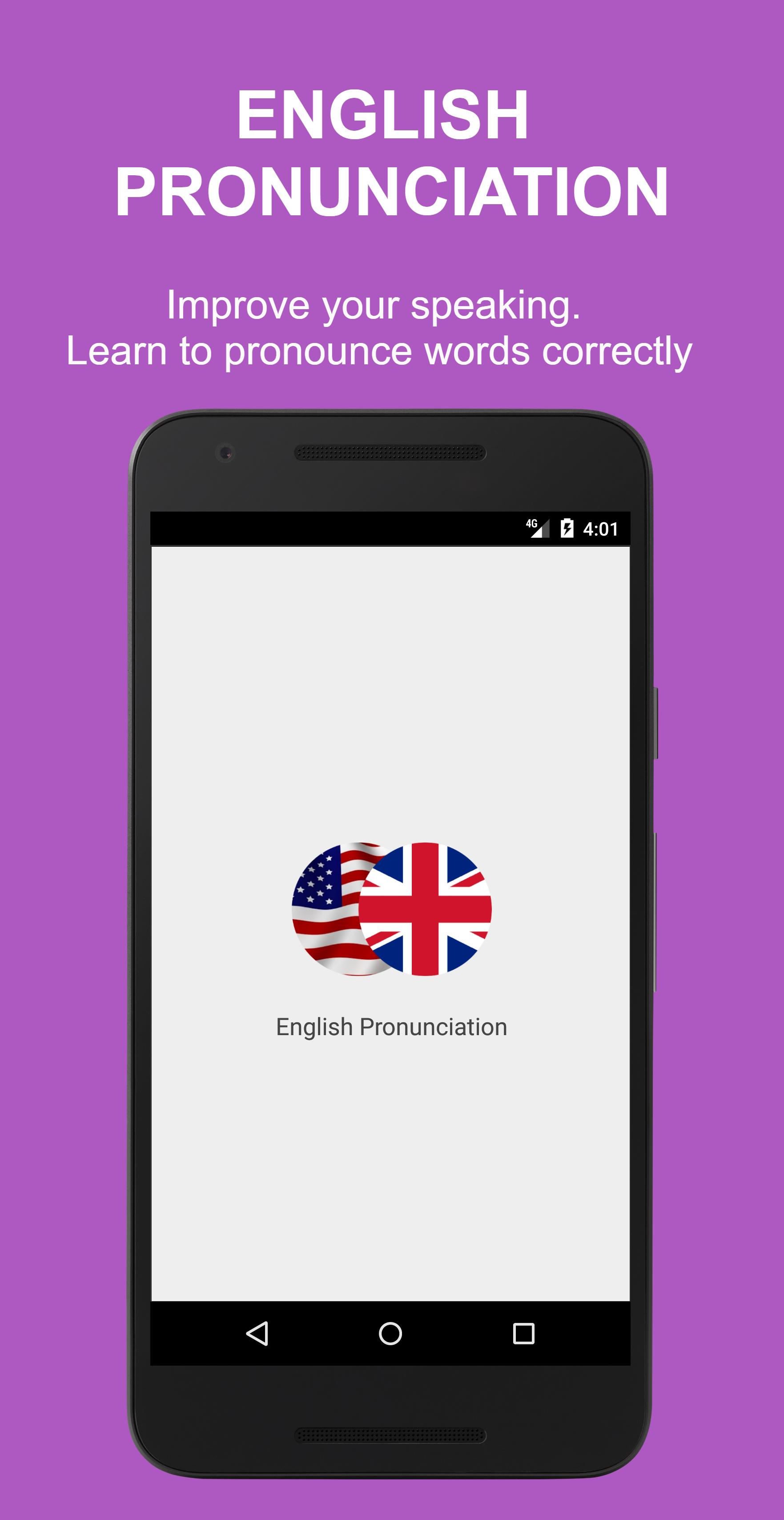 English Pronunciation for Android - APK Download