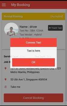 ConnexTaxi Passenger screenshot 2