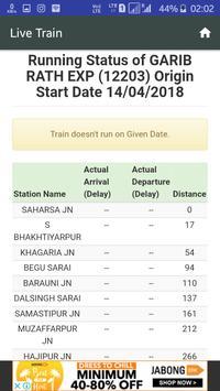 Train Live And PNR Status screenshot 4