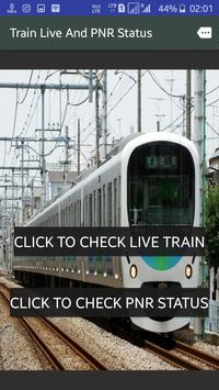 Train Live And PNR Status poster