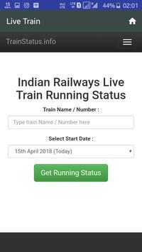 Train Live And PNR Status screenshot 2