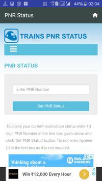 Train Live And PNR Status screenshot 3