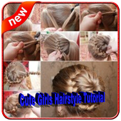 Cute Girls Hairstyle Tutorial Step by Step icon