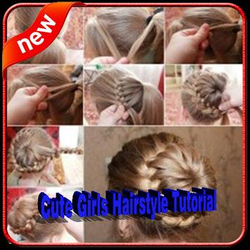 Cute Girls Hairstyle Tutorial Step by Step poster