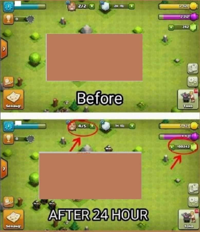 Hack for Clash Of Clans Unlimited Gems App (Prank) for
