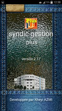 syndic gestion plus maroc poster