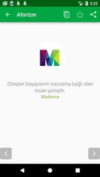 AZƏRBAYCAN AFORIZMLƏR apk screenshot
