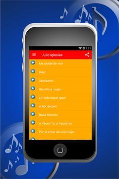 Musica De Julio Iglesias Songs screenshot 1