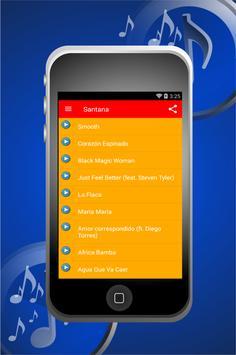 Santana Smooth Songs apk screenshot