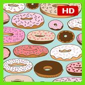 Cute Donut Wallpaper HD APK