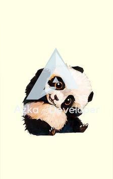 Cute Panda Wallpaper HD Apk Screenshot