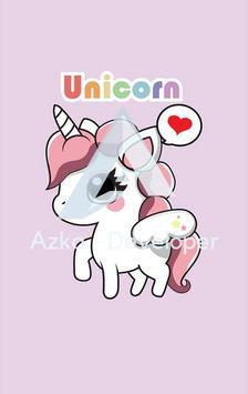 Cute Unicorn Wallpaper HD screenshot 2