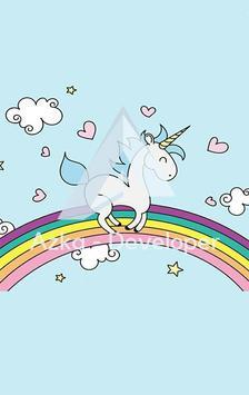 Cute Unicorn Wallpaper HD screenshot 5