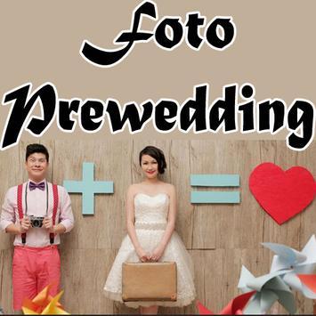 Foto Prewedding poster