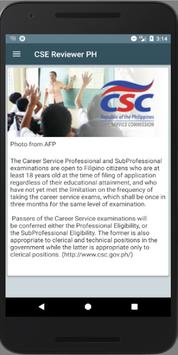 Civil Service Exam Reviewer PH poster