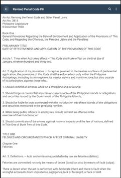 Revised Penal Code PH screenshot 4