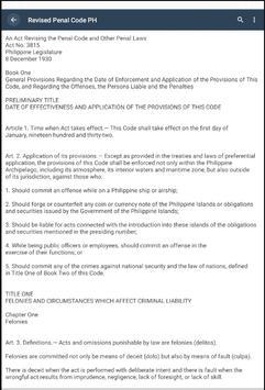 Revised Penal Code PH screenshot 4