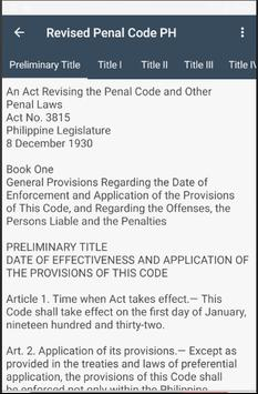 Revised Penal Code PH screenshot 2