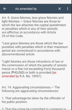 Revised Penal Code PH screenshot 3