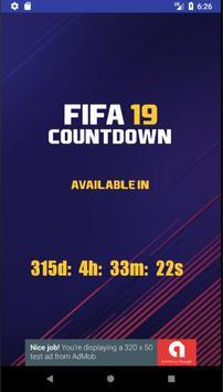 1 Schermata Countdown for FIFA 19