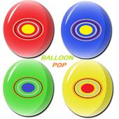 Balloon Pop For Kids icon
