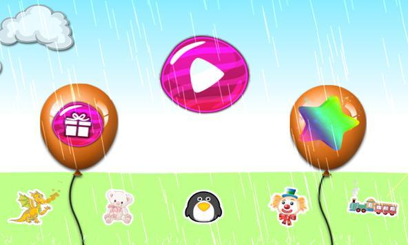 Balloon Pop For Kids poster