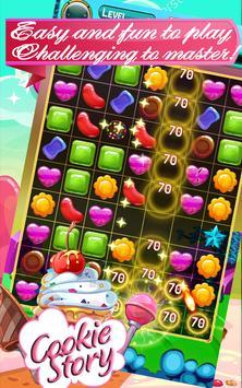 Cookies Jam Story - Match 3 Puzzle Game screenshot 1