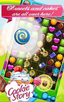 Cookies Jam Story - Match 3 Puzzle Game screenshot 2