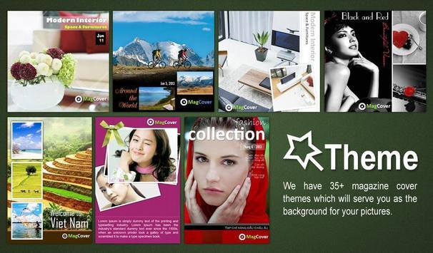 Mag Cover - Magazine Styles apk screenshot