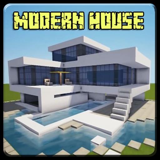 Casa moderna para minecraft pe for android apk download for Minecraft moderno
