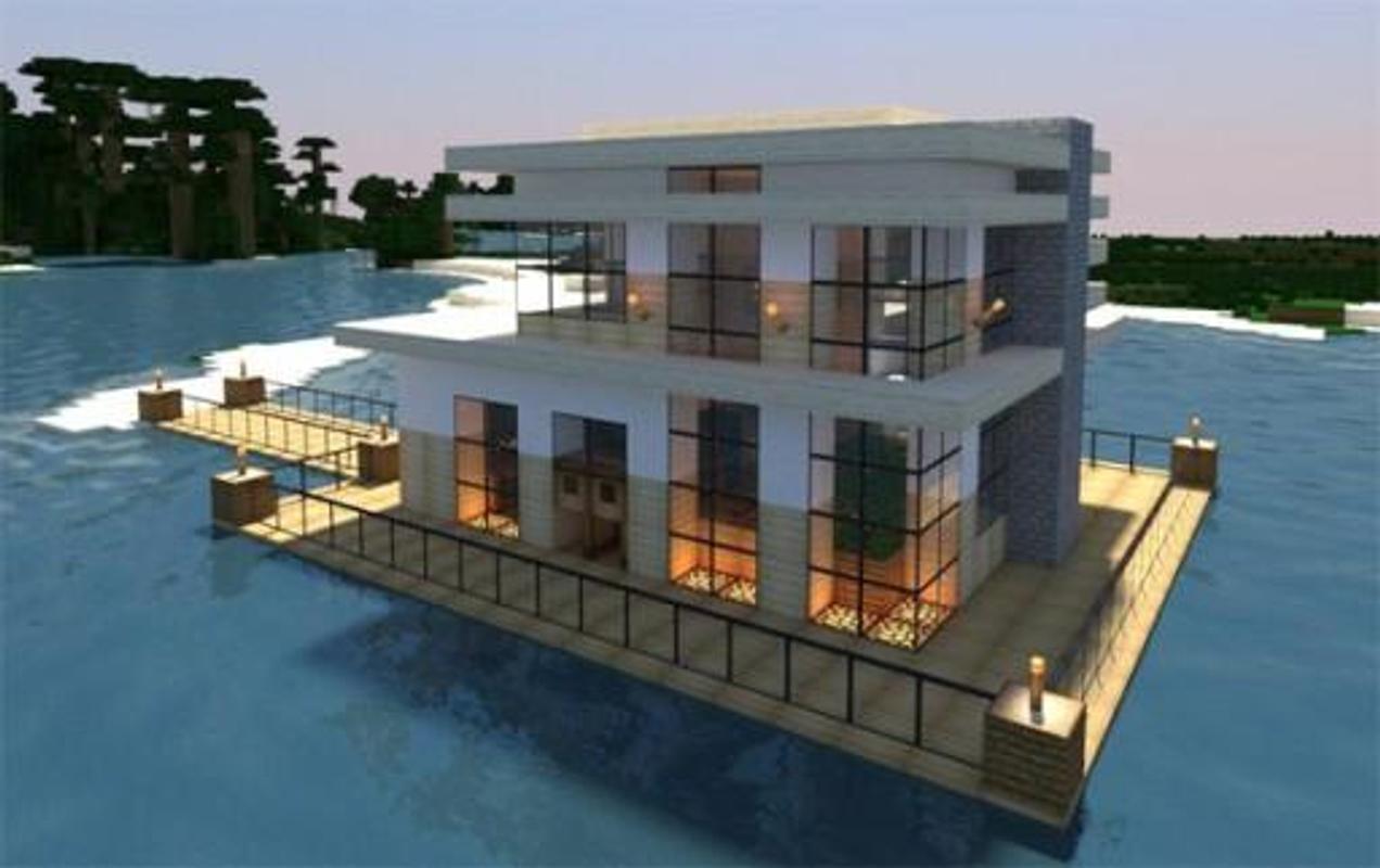 Rumah Modern Untuk Minecraft Pe For Android Apk Download