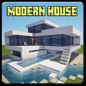 Casa moderna para minecraft pe for android apk download for Casa moderna 2 minecraft