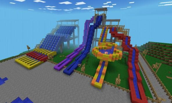 Guide Waterpark Maps for MCPE poster
