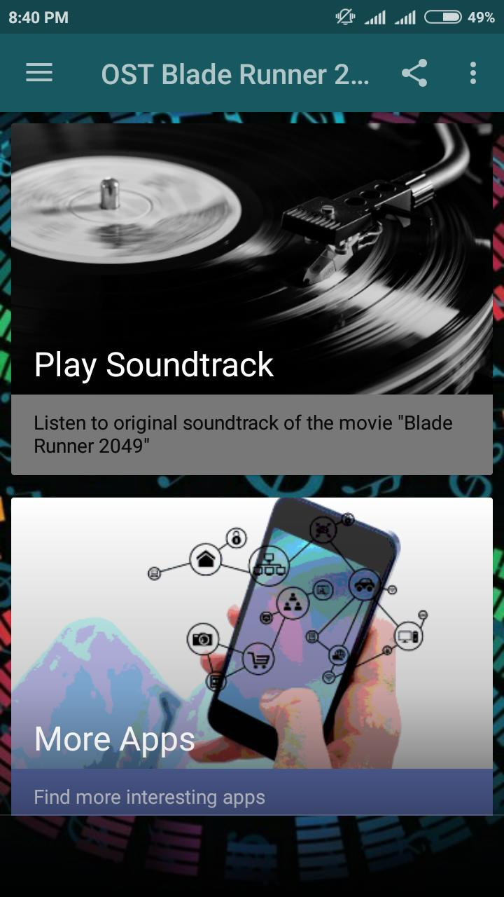 Ost Blade Runner 2049 For Android Apk Download