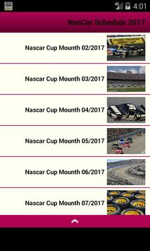 NasCar Schedule apk screenshot