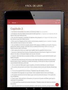 La Biblia en Español apk screenshot