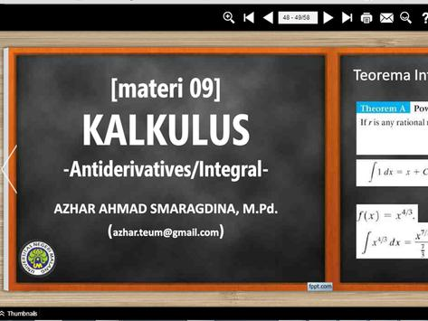 Materi Kalkulus (part3) apk screenshot