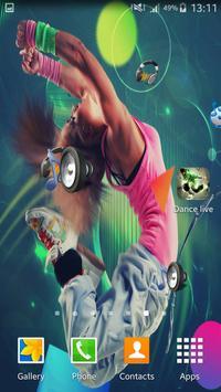 Dance live wallpaper apk screenshot