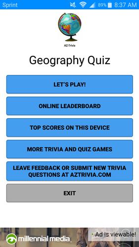 Geography Quiz for Android - APK Download